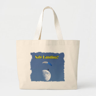 Parachute Pictures Large Tote Bag