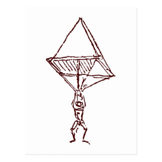 parachute postcard