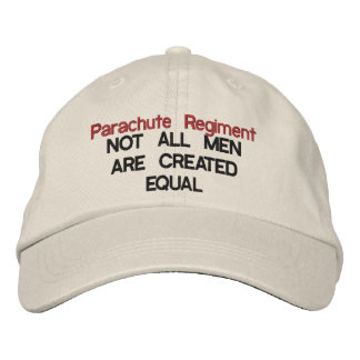 parachute regiment - equal embroidered hats