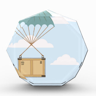 Parachute with a package award
