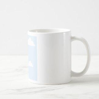 Parachute with a package coffee mug