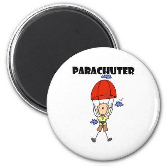 Parachuter 2 Inch Round Magnet