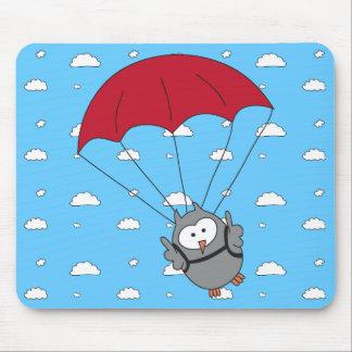 Parachuter Hooter Mouse Pad