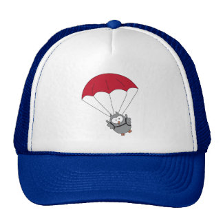 Parachuter Hooter Trucker Hat