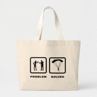 Parachuting Canvas Bag
