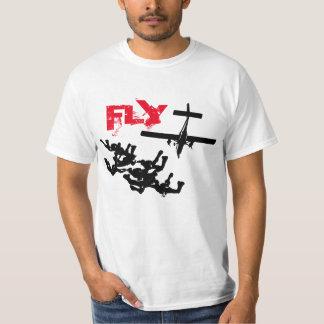 Parachuting FLY Playera