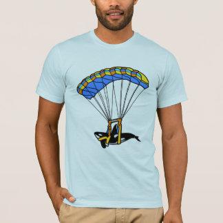 Parachuting Orca T-Shirt