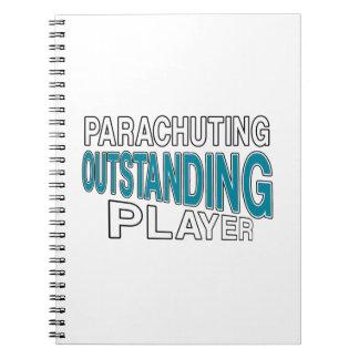 PARACHUTING OUTSTANDING PLAYER NOTEBOOK