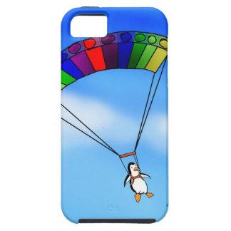Parachuting Penguin iPhone SE/5/5s Case