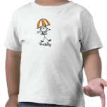 Parachuting Stick Figure Shirts