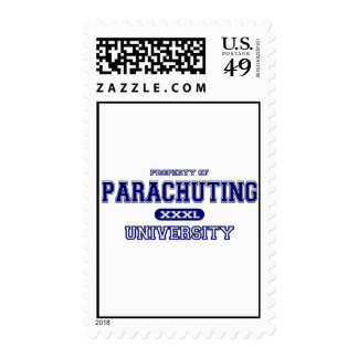 Parachuting University Postage