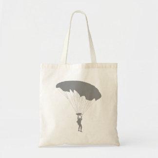 Parachutist Tote Bag
