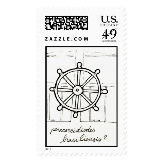 Paracoccidioides stamp
