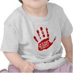 Parada 2012 de Kony Handprint José Kony Camisetas