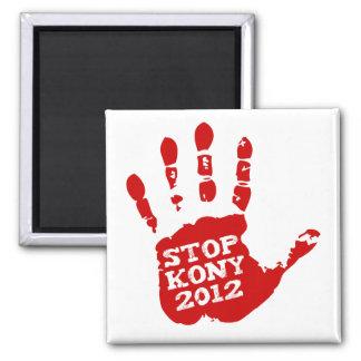 Parada 2012 de Kony Handprint José Kony Imán