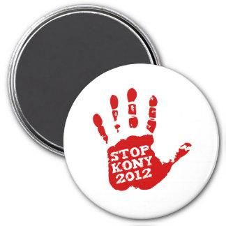 Parada 2012 de Kony Handprint José Kony Imán Redondo 7 Cm