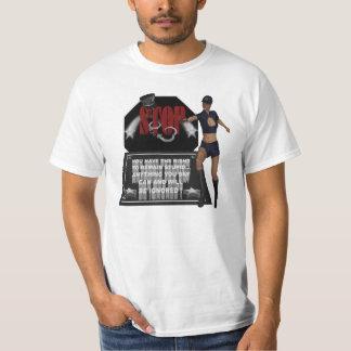Parada - camiseta del valor polera