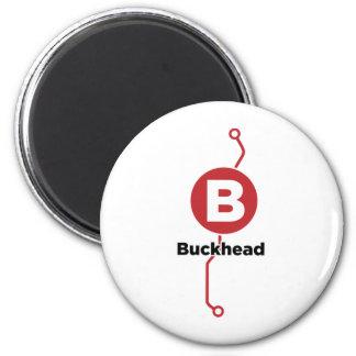 Parada de Buckhead Imán Redondo 5 Cm