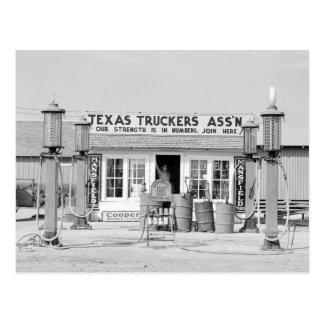 Parada de camiones de Tejas, 1939 Postales