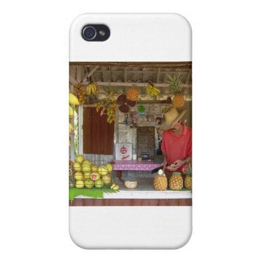 Parada de la fruta iPhone 4 coberturas