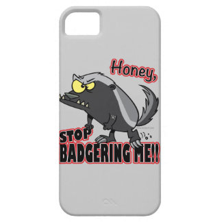 parada de la miel que me acosa tejón de miel diver iPhone 5 Case-Mate carcasas