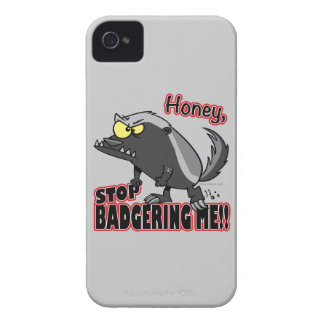 parada de la miel que me acosa tejón de miel iPhone 4 Case-Mate cárcasa