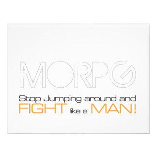 Parada de MORPG que salta alrededor y lucha como u Invitaciones Personales