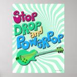 ¡Parada, descenso y poster de Powerpop!