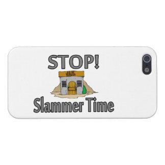 Parada es tiempo de Slammer iPhone 5 Carcasas
