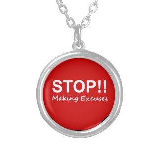 ¡Parada Fabricación de excusas Joyeria