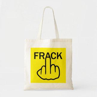 Parada Fracking del bolso Bolsa De Mano