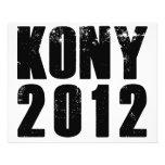 Parada José Kony de Kony 2012 Tarjetas Publicitarias