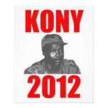 "Parada José Kony de Kony 2012 Folleto 4.5"" X 5.6"""