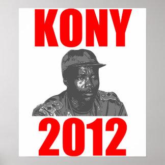 Parada José Kony de Kony 2012 Posters