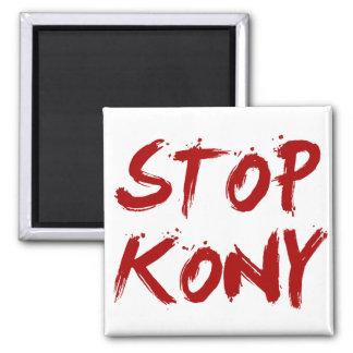 Parada José sangriento rojo Kony de Kony 2012 Imán De Frigorifico