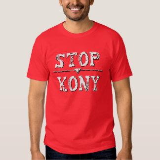 PARADA KONY del decaimiento del Grunge Remeras