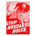 Parada Noise innecesario de la seguridad del vinta Felicitaciones