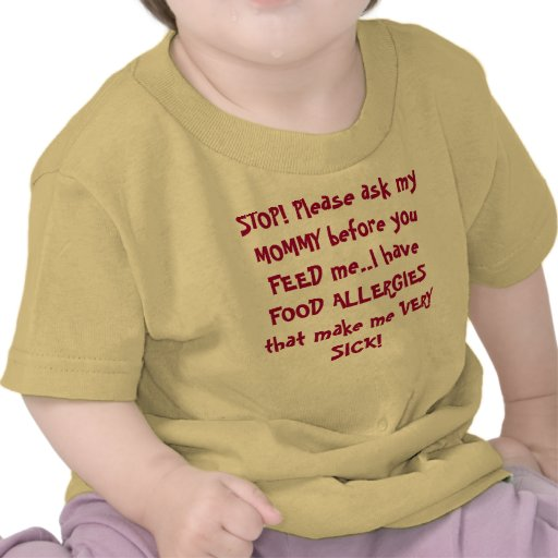 ¡PARADA! Por favor pregunte a mi MAMÁ antes de que Camiseta