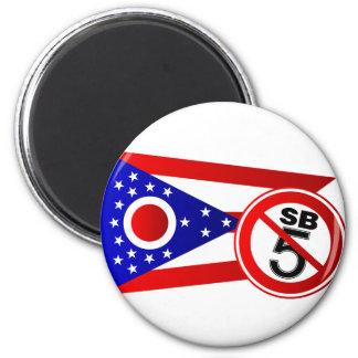 Parada SB5 de Ohio Imán Redondo 5 Cm
