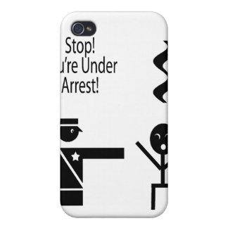 parada usted está bajo humor 2 de la música de la  iPhone 4 protectores