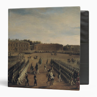 Parade at the time of Emperor Paul I  1847 Binder