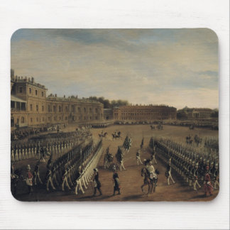 Parade at the time of Emperor Paul I  1847 Mousepads