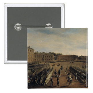 Parade at the time of Emperor Paul I  1847 Pinback Button
