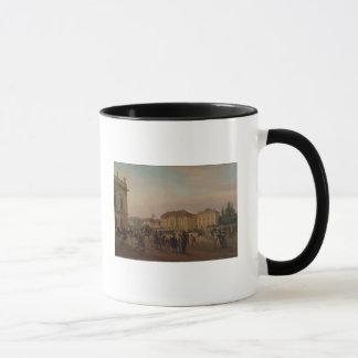 Parade before the royal palace, 1839 mug