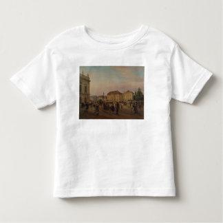 Parade before the royal palace, 1839 toddler t-shirt