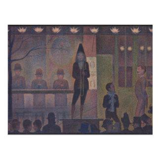 Parade de Cirque by Georges Seurat Postcard