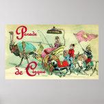 Parade de Cirque ~ Vintage Circus Poster
