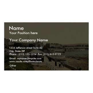 Parade (i.e., promenade) from Anchor Head, Weston- Double-Sided Standard Business Cards (Pack Of 100)