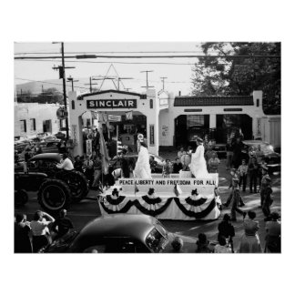 Parade McMinnville Tennessee Circi 1950 Poster