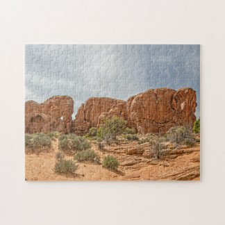 Parade of Elephants - Arches National Park Jigsaw Puzzle